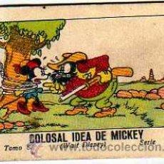 Tebeos: JUGUETES INSTRUCTIVOS MICKEY POR WALT DISNEY. SERIE V TOMO 87. CALLEJA.1936. COLOSAL IDEA DE MICKEY. Lote 28306017