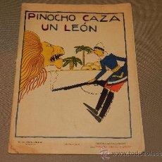 Tebeos: (M) PINOCHO CAZA UN LEON , ED SATURNINO CALLEJA, MADRID , SERIE PINOCHO CONTRA CHAPETE. Lote 30885679