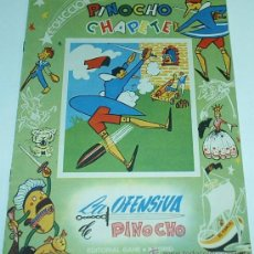Tebeos: PINOCHO Y CHAPETE - Nº LA OFENSIVA DE PINOCHO Nº 19 - ORIGINAL 1960 CALLEJA / GAHE. Lote 31318717