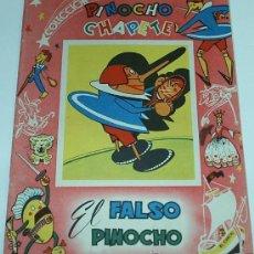 Tebeos: PINOCHO Y CHAPETE - Nº EL FALSO PINOCHO Nº 24 - ORIGINAL 1960 CALLEJA / GAHE. Lote 31318734