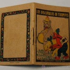 Tebeos: MINICUENTO CALLEJA SERIE IV, T. 69. MEDIDAS 7 X 5 CM. . LOS DISCÍPULOS DE TROMPIS. MIRA FOTO. Lote 34984553
