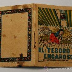 Tebeos: MINICUENTO CALLEJA SERIE VIII, T.152 EL TESORO ENGAÑOSO. Lote 34984630