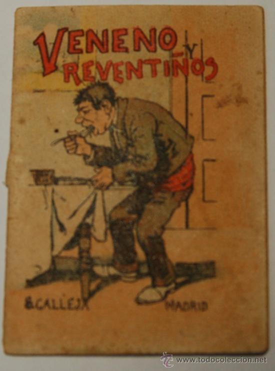 MINICUENTO CALLEJA SERIE IV, T. 67. VENENO Y REVENTIÑOS (Tebeos y Comics - Calleja)