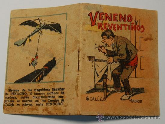 Tebeos: MINICUENTO CALLEJA SERIE IV, T. 67. VENENO Y REVENTIÑOS - Foto 2 - 34984688