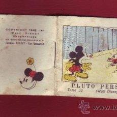 Tebeos: PLUTO PERSEGUIDO, CALLEJA 1942, WALT DISNEY - TOMO 22. Lote 35566964