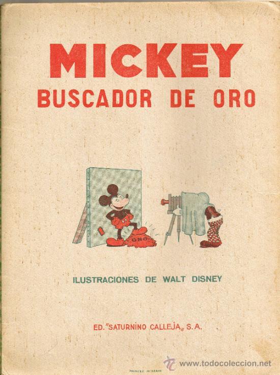 Tebeos: MICKEY BUSCADOR DE ORO - EDITORIAL SATURNINO CALLEJA - Foto 2 - 35870946