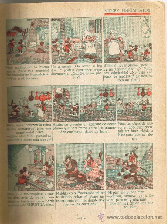 Tebeos: MICKEY BUSCADOR DE ORO - EDITORIAL SATURNINO CALLEJA - Foto 3 - 35870946