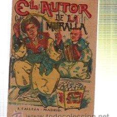 Livros de Banda Desenhada: CUENTO DE CALLEJA. EL AUTOR DE LA MURALLA. SERIE XIV. TOMO 274. 7X5CM. . Lote 159781908