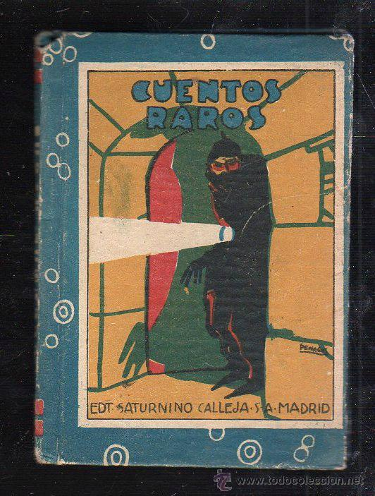 BIBLIOTECA DE RECREO. TOMO II. CUENTOS RAROS. CALLEJA. ILUSTRADO POR PENAGOS (Tebeos y Comics - Calleja)