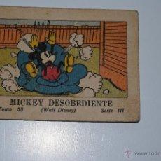 Tebeos: CUENTO SATURNINO CALLEJA MICKEY DESOBEDIENTE 1936. Lote 41622142