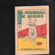 Tebeos: CUENTO DE CALLEJA. LA PRUDENCIA DE MININO. SERIE VI TOMO 103. 7X5CM. . Lote 43218514