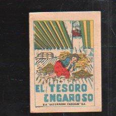 Tebeos: CUENTO DE CALLEJA. EL TESORO ENGAÑOSO. SERIE VIII TOMO 152. 7X5CM. . Lote 43218579