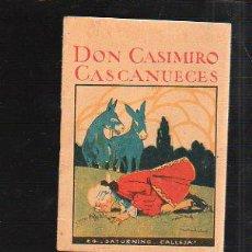 Tebeos: CUENTO DE CALLEJA. DON CASIMIRO CASCANUECES. SERIE IX TOMO 180. 7X10CM. . Lote 43218893