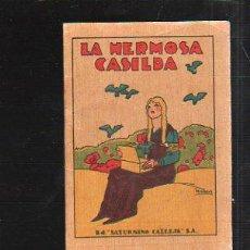 Tebeos: CUENTO DE CALLEJA. LA HERMOSA CASILDA. SERIE VII TOMO 121. 7X10CM. . Lote 43218912