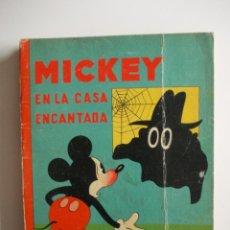 Tebeos: MICKEY MOUSE WALT DISNEY-SATURNINO CALLEJA-MICKEY EN LA CASA ENCANTADA(1933)-CLASICO. Lote 43491929