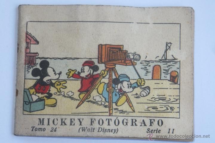 WALT DISNEY MICKEY FOTOGRAFO MINI CUENTO CALLEJA 1936 (Tebeos y Comics - Calleja)