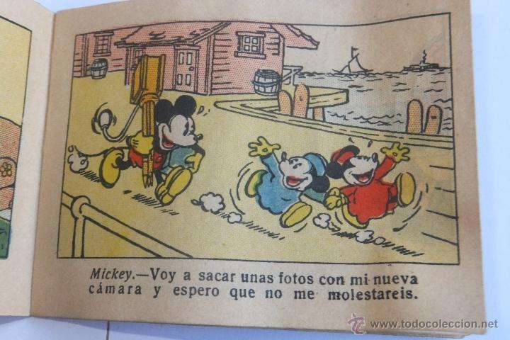 Tebeos: Walt Disney Mickey Fotografo mini cuento Calleja 1936 - Foto 4 - 43872373
