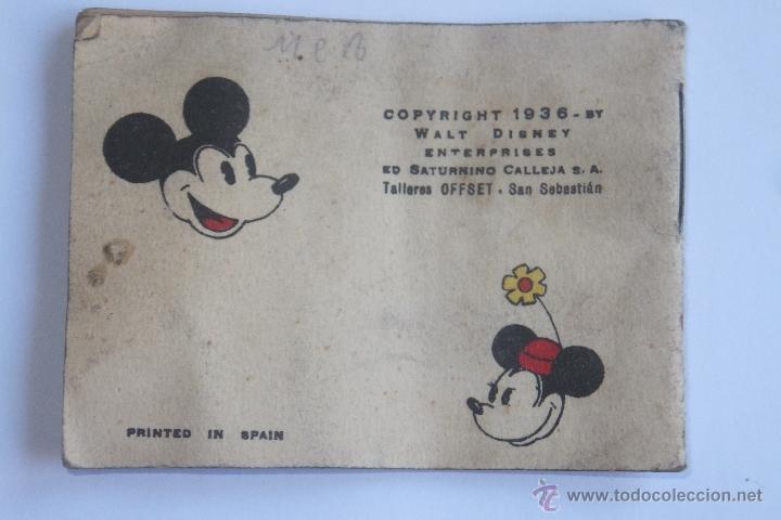 Tebeos: Walt Disney Mickey Fotografo mini cuento Calleja 1936 - Foto 7 - 43872373