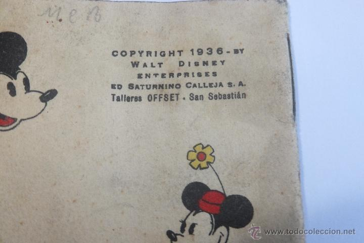 Tebeos: Walt Disney Mickey Fotografo mini cuento Calleja 1936 - Foto 8 - 43872373