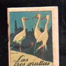 Tebeos: CUENTO DE CALLEJA. LAS TRES GRULLAS. SERIE XII TOMO 221. 7X10CM. . Lote 44069861