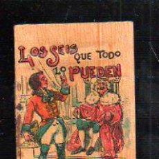 Tebeos: CUENTO DE CALLEJA. LOS SEIS QUE TODO LO PUEDEN. SERIE V. TOMO 83. 7X10CM. . Lote 44069893