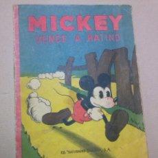 Tebeos: MICKEY Nº 6 - CALLEJA -1934. Lote 44141037