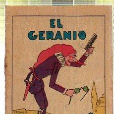 Tebeos: CUENTO DE CALLEJA. EL GERANIO. SERIE II. TOMO 34.. Lote 45075874