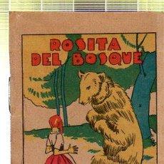 Tebeos: CUENTO DE CALLEJA. ROSITA DEL BOSQUE. SERIE XV. TOMO 299. Lote 45075910