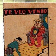 Tebeos: CUENTO DE CALLEJA. TE VEO VENIR. SERIE IX. TOMO 203. Lote 45075923