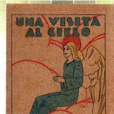 Tebeos: CUENTO DE CALLEJA. UNA VISITA AL CIELO. SERIE XV. TOMO 291. Lote 45076176