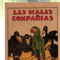 Tebeos: CUENTO DE CALLEJA. LAS MALAS COMPAÑIAS. SERIE II. TOMO 25. Lote 45076194