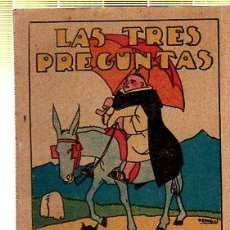 Tebeos: CUENTO DE CALLEJA. LAS TRES PREGUNTAS. SERIE I. TOMO 5. Lote 45076318