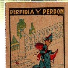 Tebeos: CUENTO DE CALLEJA. PERFIDIA Y PERDON. SERIE XII. TOMO 228. Lote 45076332