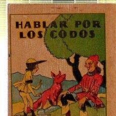 Tebeos: CUENTO DE CALLEJA. HABLAR POR LOS CODOS. SERIE XII. TOMO 223. Lote 45076351