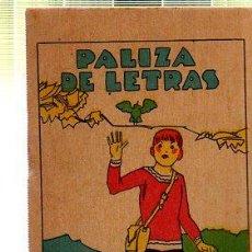 Tebeos: CUENTO DE CALLEJA. PALIZA DE LETRAS. SERIE XIV. TOMO 271. Lote 45076387