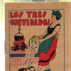 Tebeos: CUENTO DE CALLEJA. LOS TRES CONVIDADOS. SERIE III. TOMO 43. Lote 45076391