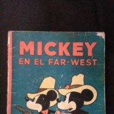 BDs: MICKEY BUSCADOR EN EL FAR-WEST - EDITORIAL SATURNINO CALLEJA . Lote 46689788