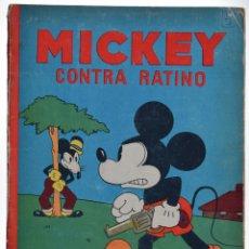 Tebeos: MICKEY CONTRA RATINO - WALT DISNEY - CALLEJA (1935). Lote 46697173
