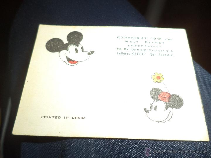 Tebeos: Minicuento Walt Disney de 1942.Editorial Saturnino Calleja.Tomo nº 96 Serie V - Foto 2 - 47081544