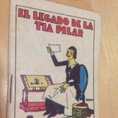 Tebeos: ANTIGUO CUENTO DE CALLEJA: EL LEGADO DE LA TÍA PILAR. TOMO Nº 113. . Lote 47649911