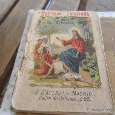 Tebeos: CATECISMO DE LA DOCTRINA CRISTIANA POR RIPALDA SATURNINO CALLEJA MADRID 1901 94 PAGINAS. Lote 47929249