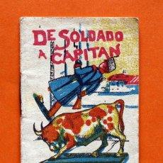 Tebeos: CUENTOS DE CALLEJA - SERIE III - T.46. DE SOLDADO A CAPITAN -. Lote 49608781