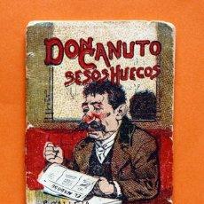 Tebeos: CUENTOS DE CALLEJA - SERIE XV. T. 281 - DON CANUTO SESOS HUECOS - . Lote 49631573