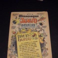 Tebeos: ALMANAQUE JAIMITO PARA 1958. . Lote 54447738