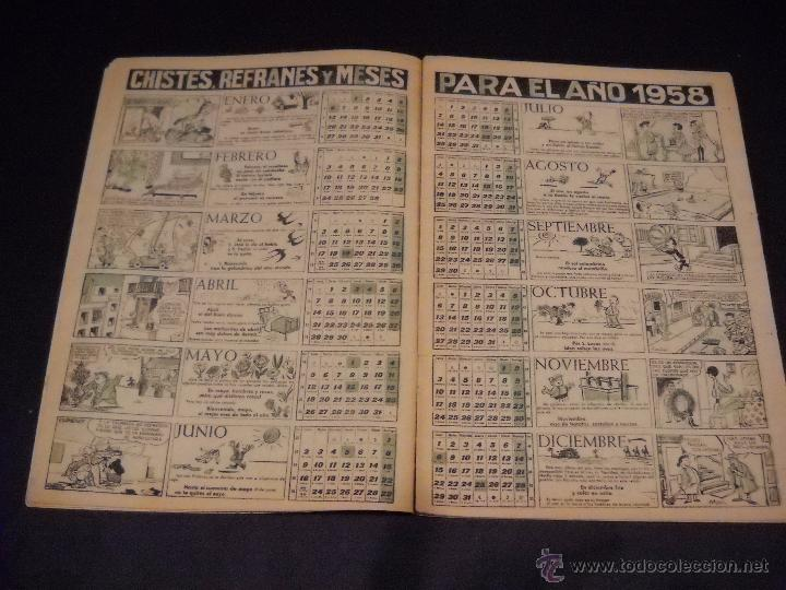 Tebeos: Almanaque JAIMITO para 1958. - Foto 5 - 54447738