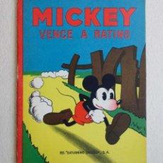 Tebeos: MICKEY Nº 6. ED SATURNINO CALLEJA.1936. PERFECTO ESTADO. Lote 54622569