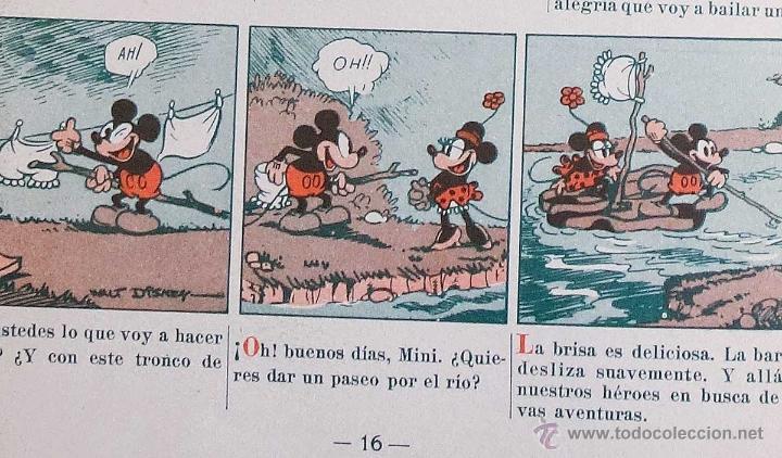 Tebeos: MICKEY Nº 6. ED SATURNINO CALLEJA.1936. PERFECTO ESTADO - Foto 6 - 54622569