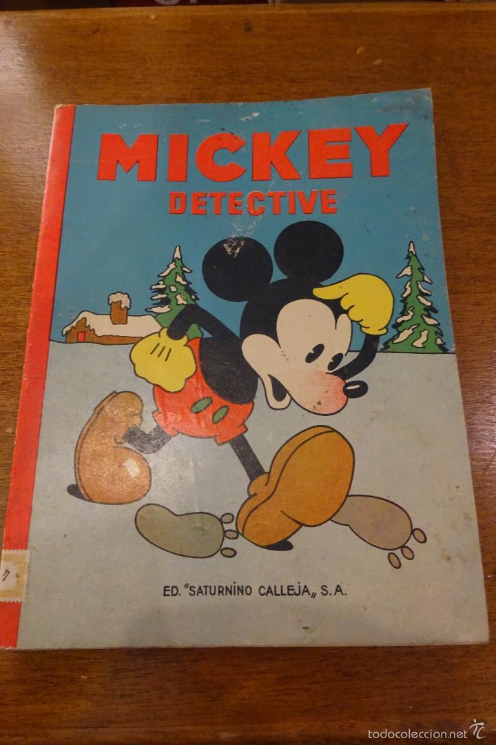 MICKEY DETECTIVE - 1935 - ED. SATURNINO CALLEJA (Tebeos y Comics - Calleja)