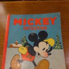 Tebeos: MICKEY DETECTIVE - 1935 - ED. SATURNINO CALLEJA. Lote 56115235