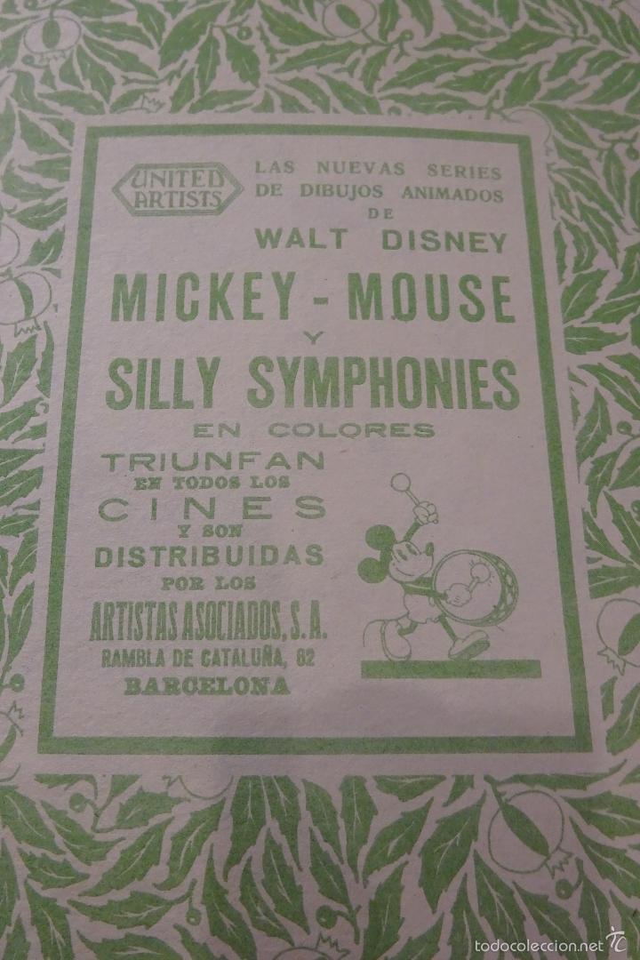 Tebeos: MICKEY DETECTIVE - 1935 - ED. SATURNINO CALLEJA - Foto 4 - 56115235